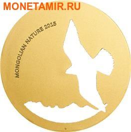 Монголия 500 тугриков 2015. Сокол – Балобан серия Монгольская природа (Силуэт).Арт.000438250225/60 (фото)