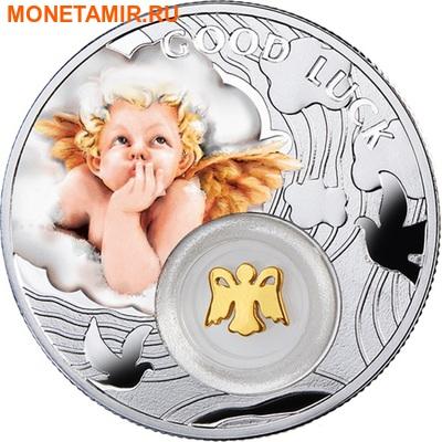 Ниуэ 1 доллар 2014.Символы счастья – Ангел.Арт.000197049071 (фото)