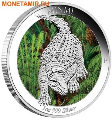 Австралия 1 доллар 2015.Динозавр – Минми серия Австралийская эпоха динозавров.Арт.000100050793/60 (фото)