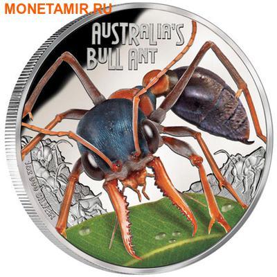 Тувалу 1 доллар 2015 Муравей Бульдог серия Смертельно Опасные (Tuvalu 1$ 2015 Deadly Dangerous Bull Ant).Арт.000100050872/60 (фото)