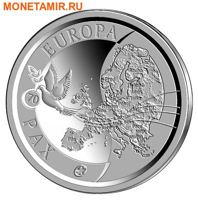 Бельгия 10 евро 2015.70 лет мира в Европе.Арт.000100050818/60 (фото)