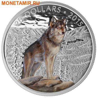 Канада 20 долларов 2015.Альфа-Волк.Арт.000100050825/60 (фото)