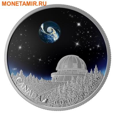 Канада 20 долларов 2016.Вселенная.Космос. (фото)