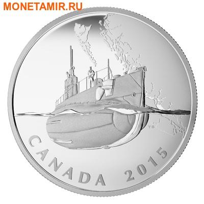 Канада 20 долларов 2015.Подводная лодка серии Канадский тыл.Арт.60 (фото)