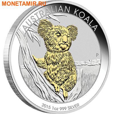 Австралия 1 доллар 2015.Австралийский коала.Арт.000318250263/60 (фото)