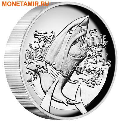 Австралия 1 доллар 2015.Большая белая акула.Арт.000100050791/60