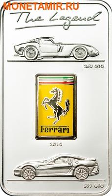 Острова Кука 5 долларов 2010.Легенда Феррари – GTO.Арт.000203833087 (фото)