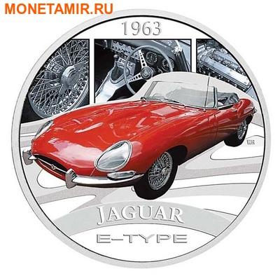 Тувалу 1 доллар 2006.Ягуар – Классические автомобили мира.000150046731