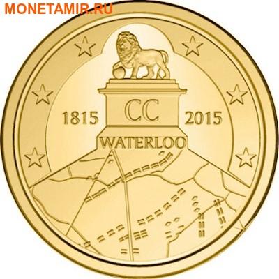 Бельгия 2,5 евро 2015 200 лет Битвы при Ватерлоо Коинкарта (2015 Belgium 2,5E 200 Yrs Battle of Waterloo Coincard).Арт.000100050800/60 (фото)