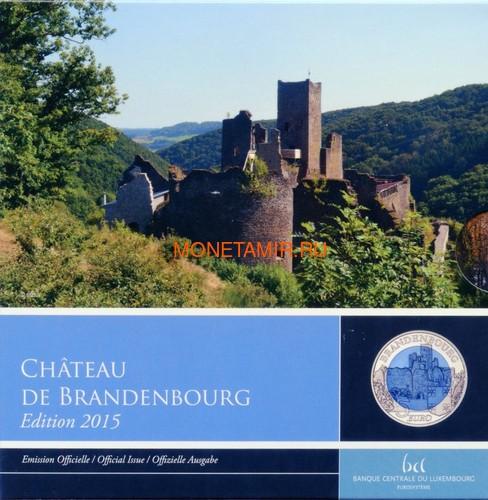 Люксембург 5 евро 2015 Замок Бранденбург Замки Люксембурга Ниобий (Luxemburg 5 Euro 2015 Castle Brandenburg BM Niob).Арт.000607351104/60 (фото)