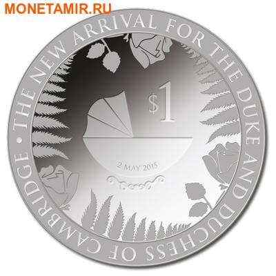 Новая Зеландия 1 доллар 2015.Королевский ребенок.Арт.60 (фото)