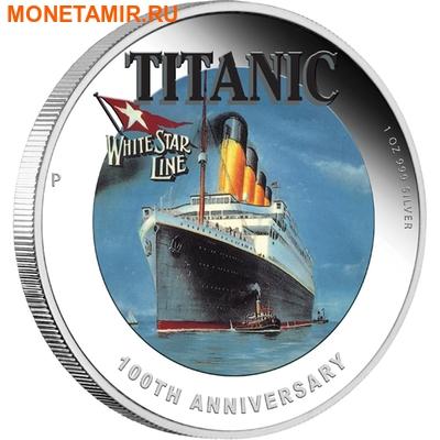 Тувалу 1 доллар 2012.Корабль -Титаник.Арт.000240646112/60 (фото)