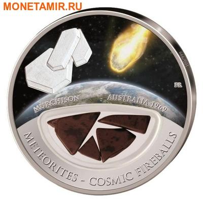 Фиджи 10 долларов 2013.Метеорит – Мерчисон (MURCHISON) серия Метеориты и Кометы.Арт.000316345789/60 (фото)