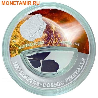 Фиджи 10 долларов 2013.Метеорит – Мауэркирхен (MAUERKIRHEN) серия Метеориты и Кометы.Арт.60 (фото)