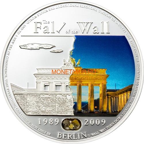 Палау 5 долларов 2009 Падение Берлинской стены.Арт.60