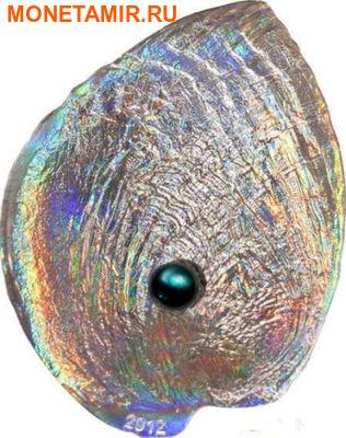 Палау 5 долларов 2012.Устрица с жемчужиной - Халиотис Айрис (Haliotis Iris).Арт.000585142144/60 (фото)