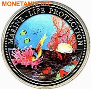 Палау 1 доллар 1994.Рыба клоун – Защита морской жизни.Арт.000040041814/60 (фото)