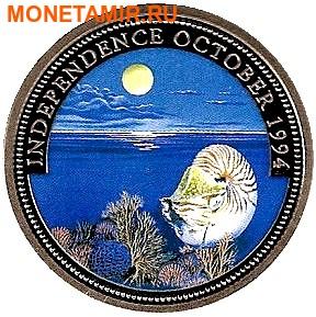 Палау 1 доллар 1994.Наутилус – Защита морской жизни (Независимость).Арт.000040041814/60 (фото)