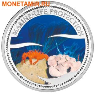 Палау 1 доллар 2003.Морской краб – Защита морской жизни.Арт.000040047753/60 (фото)