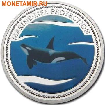 Палау 1 доллар 2003.Косатка – Защита морской жизни.Арт.000031942316/60 (фото)