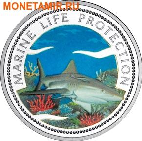 Палау 1 доллар 1999.Акула – Защита морской жизни.Арт.000040041820/60 (фото)