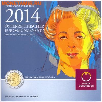 Австрия 3,88 евро 2014.Официальный годовой набор евро.Арт.60 (фото)