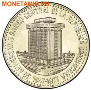Доминикана 30 песо 1977.Центральный Банк.Арт.60 (фото)
