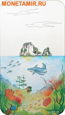 Палау 2 доллара 2012.Акула - Бесконечный рай.Арт.000201338968/60 (фото)