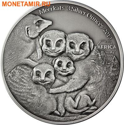 Конго 2000 франков 2013.Сурикаты.Арт.000274851083/60 (фото)