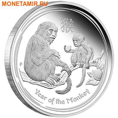 Австралия 50 центов 2016.Год обезьяны – Лунный календарь.Арт.60 (фото)