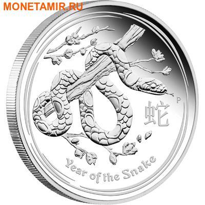 Австралия 1 доллар 2013.Год Змеи - Лунный календарь.Арт.60 (фото)