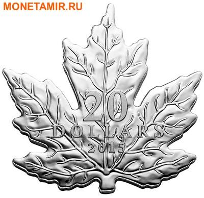 Канада 20 долларов 2015.Канадский Кленовый лист.Арт.60 (фото)