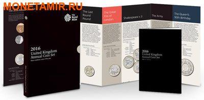 Великобритания Полный Годовой Набор 2016 (The 2016 UK Brilliant Uncirculated Annual Coin Set).Арт.60 (фото)