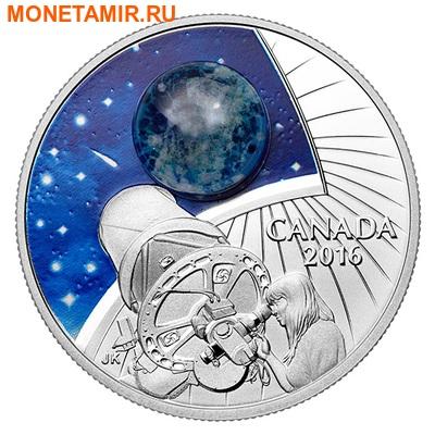 Канада 20 долларов 2016.Вселенная.Космос.Телескоп.Арт.60 (фото)