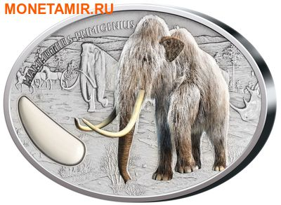 Нигер 1500 франков 2015.Мамонт.Арт.000734151096/60 (фото)