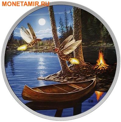 Канада 30 долларов 2015.Светлячки в лунном свете.Арт.60 (фото)
