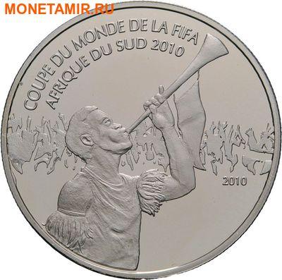 Камерун 1000 франков 2010.Футбол ФИФА Южная Африка 2010.Арт.000274851091/60 (фото)