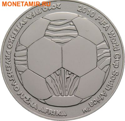 Хорватия 150 кун 2009.Футбол ФИФА Южная Африка 2010.Арт.000274851088/60 (фото)