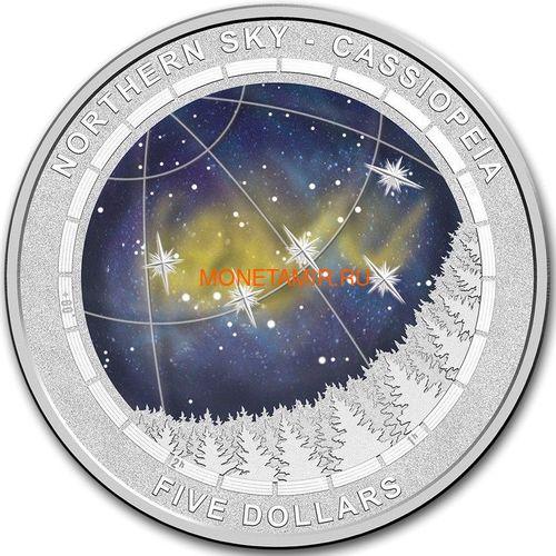 Австралия 5 долларов 2016.Кассиопея – Северное полушарие.Арт.60 (фото)