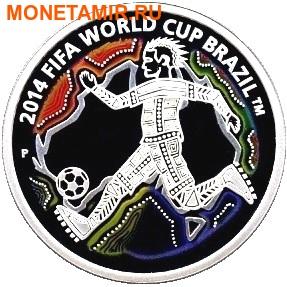 Австралия 50 центов 2012.Футбол – ФИФА 2014 – Чемпионат Мира в Бразилии.Арт.51020/60 (фото)