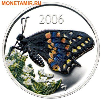 Канада 50 центов 2006.Бабочка.Арт.60 (фото)