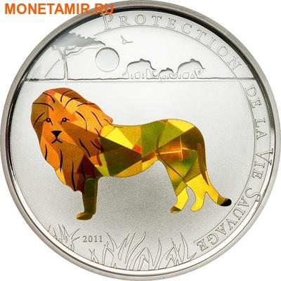 Того 100 франков 2011.Лев (призма).Арт.000091534353/60 (фото)