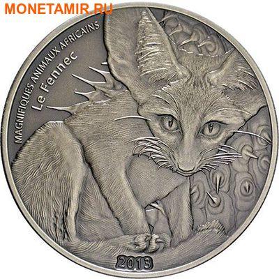 Нигер 1000 франков 2013.Лиса.Арт.000298246833/60 (фото)
