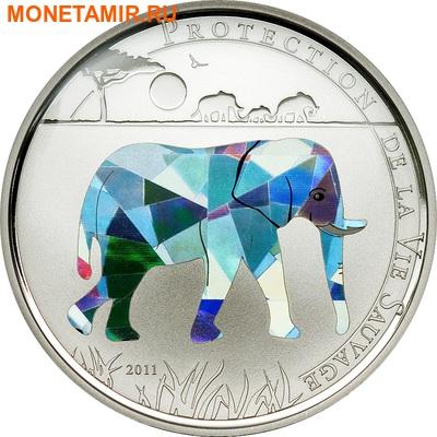 Того 100 франков 2011.Слон (призма).Арт.000050047411/60 (фото)