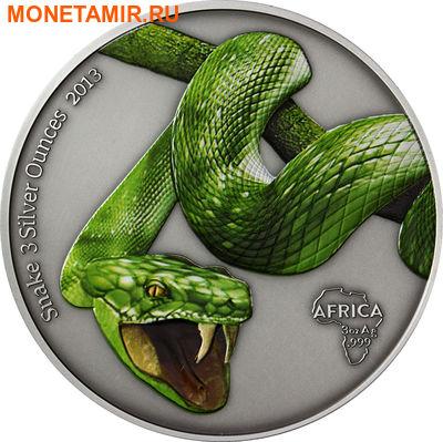 Габон 2000 франков 2013.Змея (зеленая).Арт.000947048770/60 (фото)