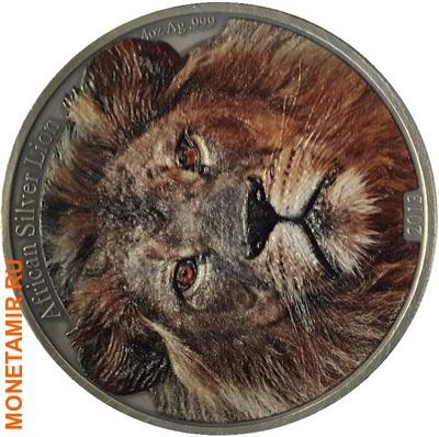 Конго 5000 франков 2013.Лев (эмаль).Арт.001574549753/60 (фото)