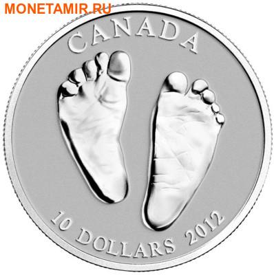 Канада 10 долларов 2012.Добро пожаловать в мир.Монета на рождение.Арт.000192339142/60 (фото)