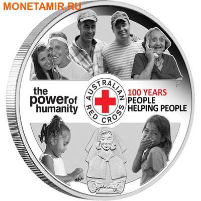 Австралия 1 доллар 2014.Красный крест.Арт.000252148163/60 (фото)