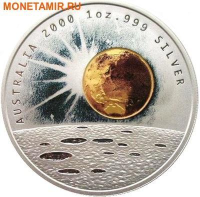 Австралия 1 доллар 2000.Миллениум.Космос.Арт.000478051631/60 (фото)