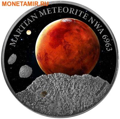 Ниуэ 1 доллар 2016.Метеорит – Марс NWA 6963 (Martian Meteorite NWA 6963).Арт.60 (фото)